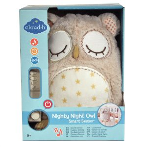 Nighty Night Owl Smart Sensor toy by Cloud b